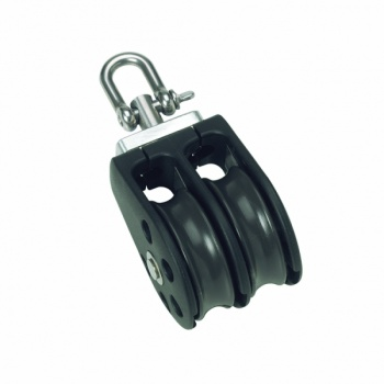 01230 - 6mm Double Swivel Pulley