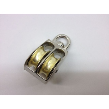 Small Pulley - 6mm Double Wheel
