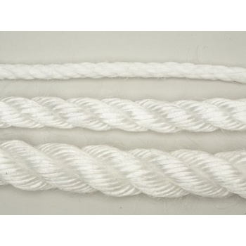 18mm White Staple Rope