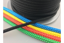Braid on Braid Polyester Rope - Solid Colour