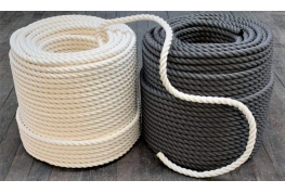Black & White Hempex Rope