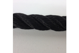 14mm Black Multifilament Rope