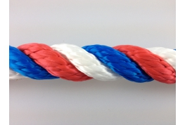 14mm Multi Coloured Polypropylene Rope