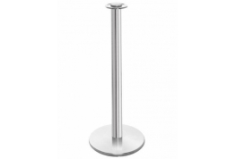 Barrier Rope Post - Chrome