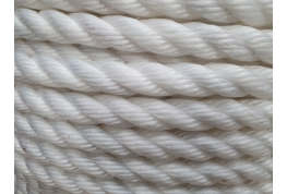 28mm White Staple Rope