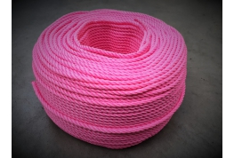 6mm Pink Multifilament Rope
