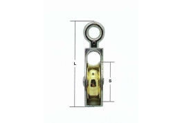 Small Pulley - 2mm to 5mm Single Wheel